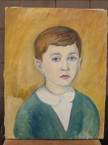 Roberto Tiraboschi a sei anni (Tilde Poli)