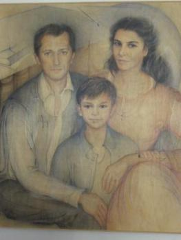 Da sinistra: Roberto, Sebastiano e Roberta Tiraboschi